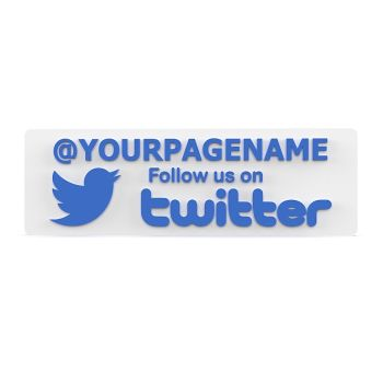 Follow Us On Twitter Sign