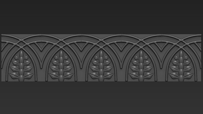 3D Modelled Pattern