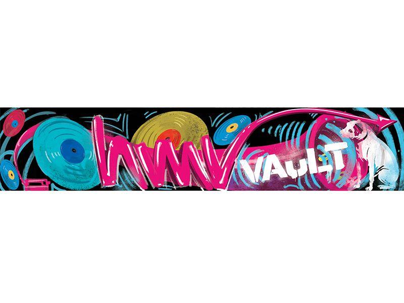 HMV Wall Graffiti Concept Design