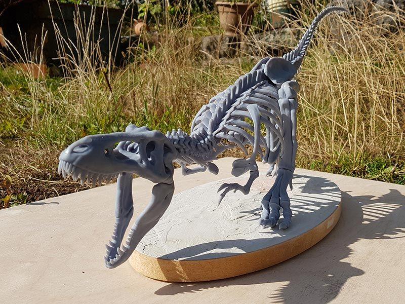 Dinosaur 3D Print Assembled
