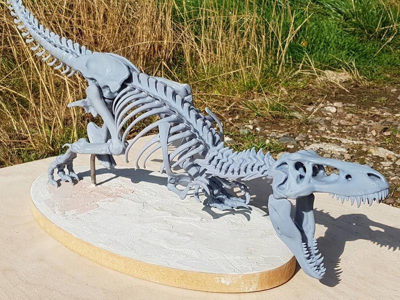 Dinosaur 3D Print Assembled 02