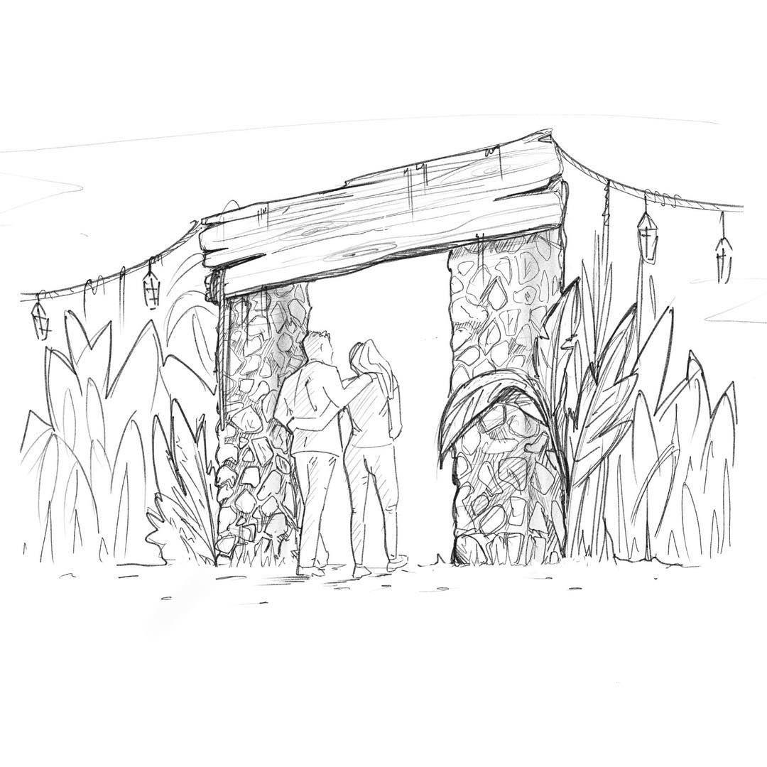 General Entrance Sketch
