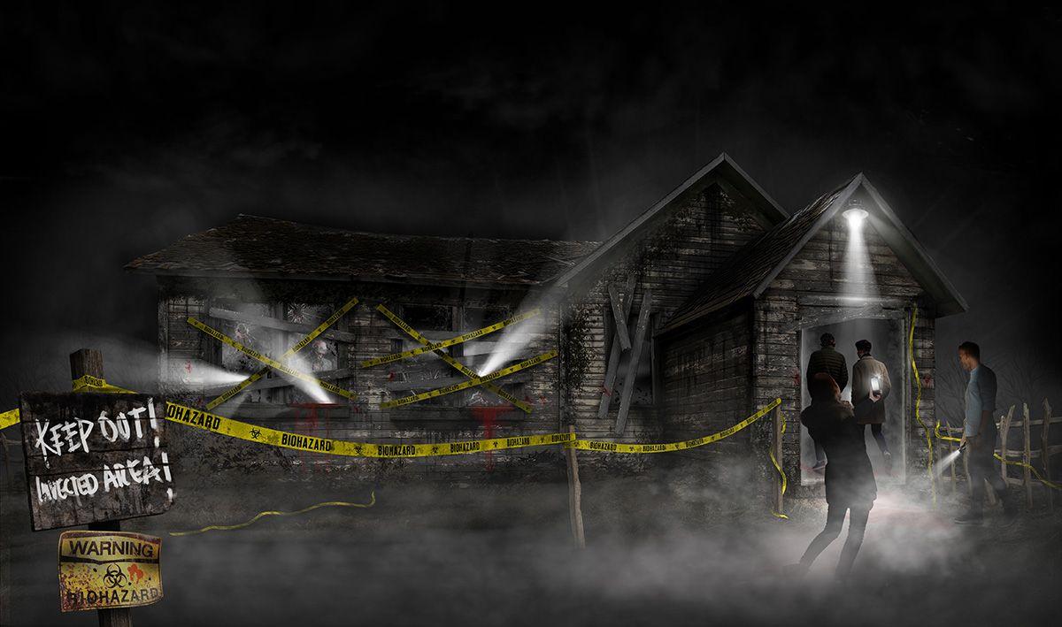 Zombie Scare Attraction Design