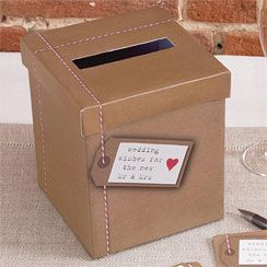 Wedding Wishes Post Box