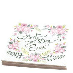'Best Day Ever' Napkins 20pk