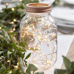 Rose Gold String Lights - 3m