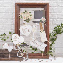 Beautiful Botanics Photo Booth Props