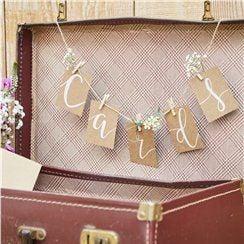 Peg & String Hanging Card Kit - 1m