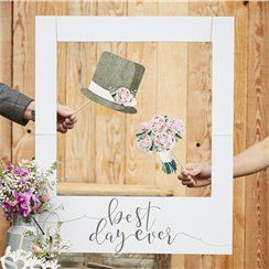 'Best Day Ever' Giant Polaroid Photo Prop Sign