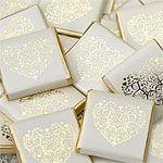 Gold Vintage Heart Neapolitans