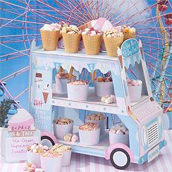 Ice Cream Van Candy Buffet Stand