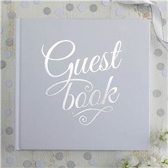 Metallic Perfection Wedding Guest Book
