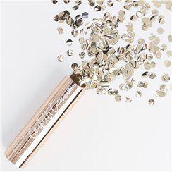 Pick & Mix Rose Gold Confetti Cannon - 15cm