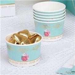 Eternal Rose Tubs - Paper Treat Tubs