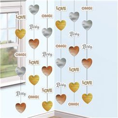 OMG Engagement String Decorations - 2m