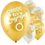 "OMG Engagement Balloons - 11"" Latex"