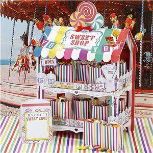 Sweet Shop Rainbow Treat Stand - 38cm