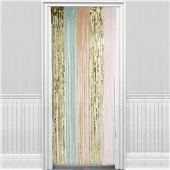 Pastel Door Curtain