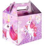 Unicorn Party Box - 14cm long