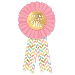 Confetti Fun Birthday Award Ribbon