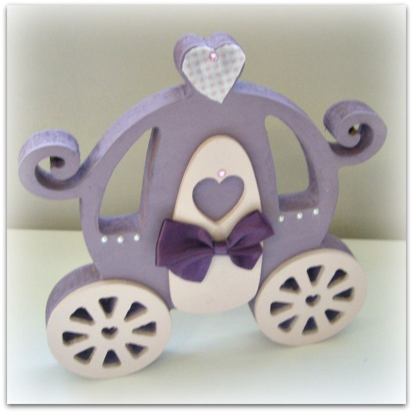 Hand Painted Princess Carriages