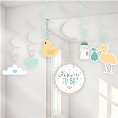 Mummy to be baby shower decoration