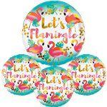 Flamingle flamingo party balloons