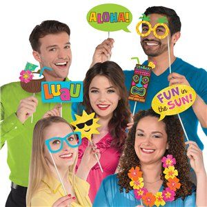 Summer Photo booth party kit