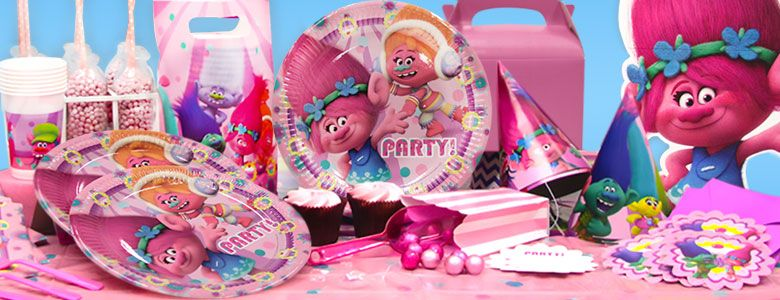 Kids Birthday Party Decorations & Accessories for Girls