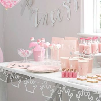 Princess  themed Birthday party decorations & accessories