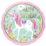 Unicorn party balloon