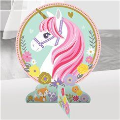unicorn party table centrepiece