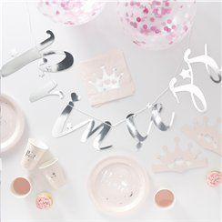 Princess party in a box decorations & tableware