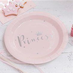Princess party plates