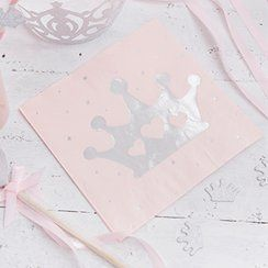 Princess party napkins