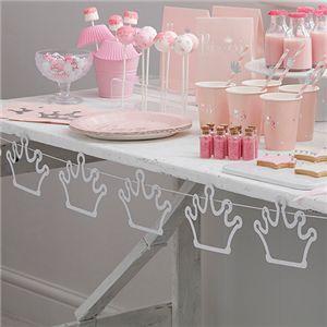 Princess party tiara bunting
