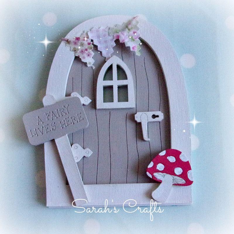 Hand Painted Fairy Door - Driftwood