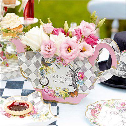 Truly Alice Tea Pot Centrepiece