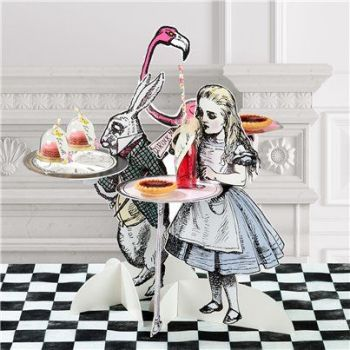Truly Alice Cake Stands - 41cm