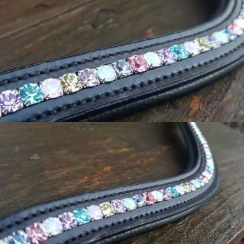 Unicorn Crystal Channel Browband