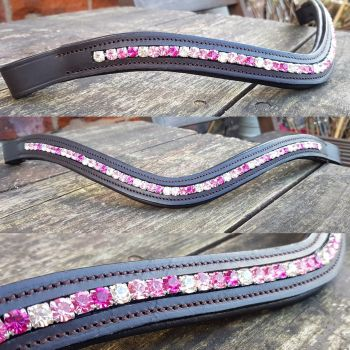 Bespoke Closed Chain Crystal channel Browband