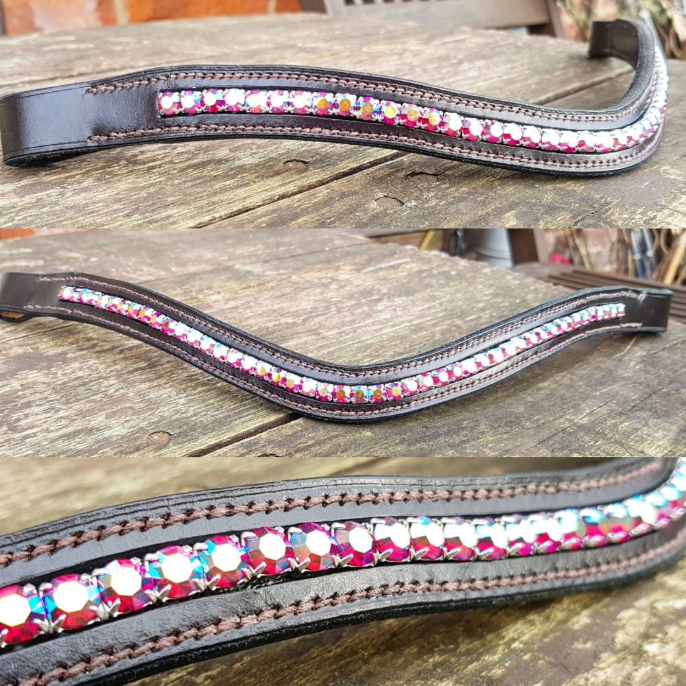 Red AB Channel Browband