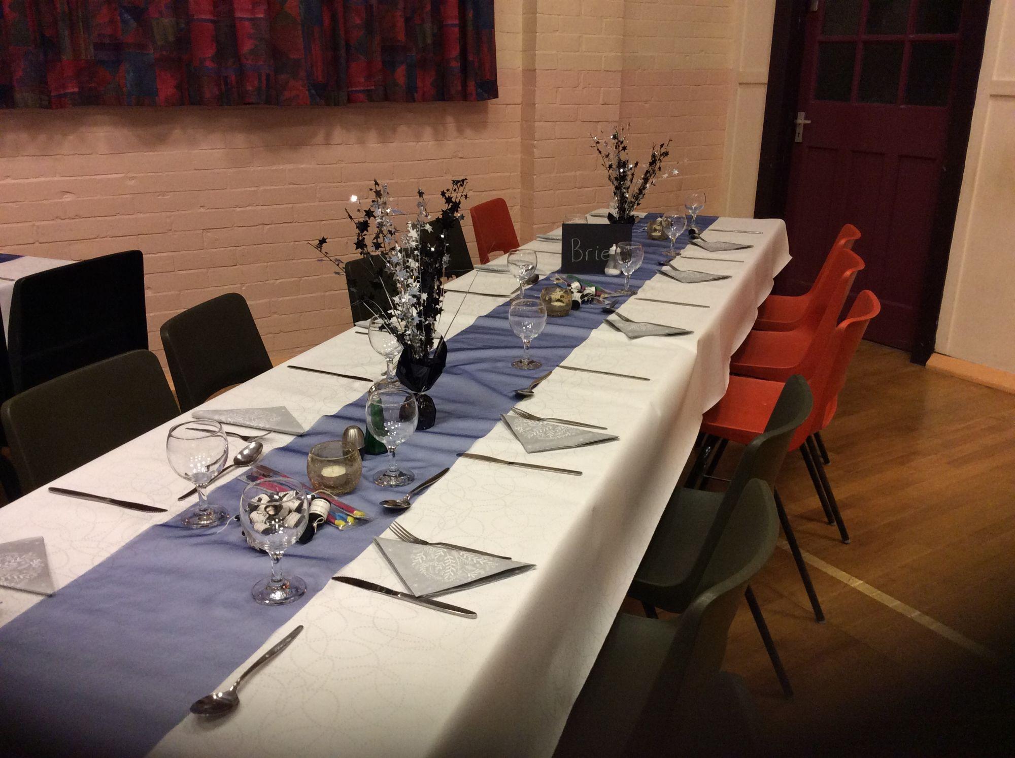 Hemyock Parish hall as a wedding venie