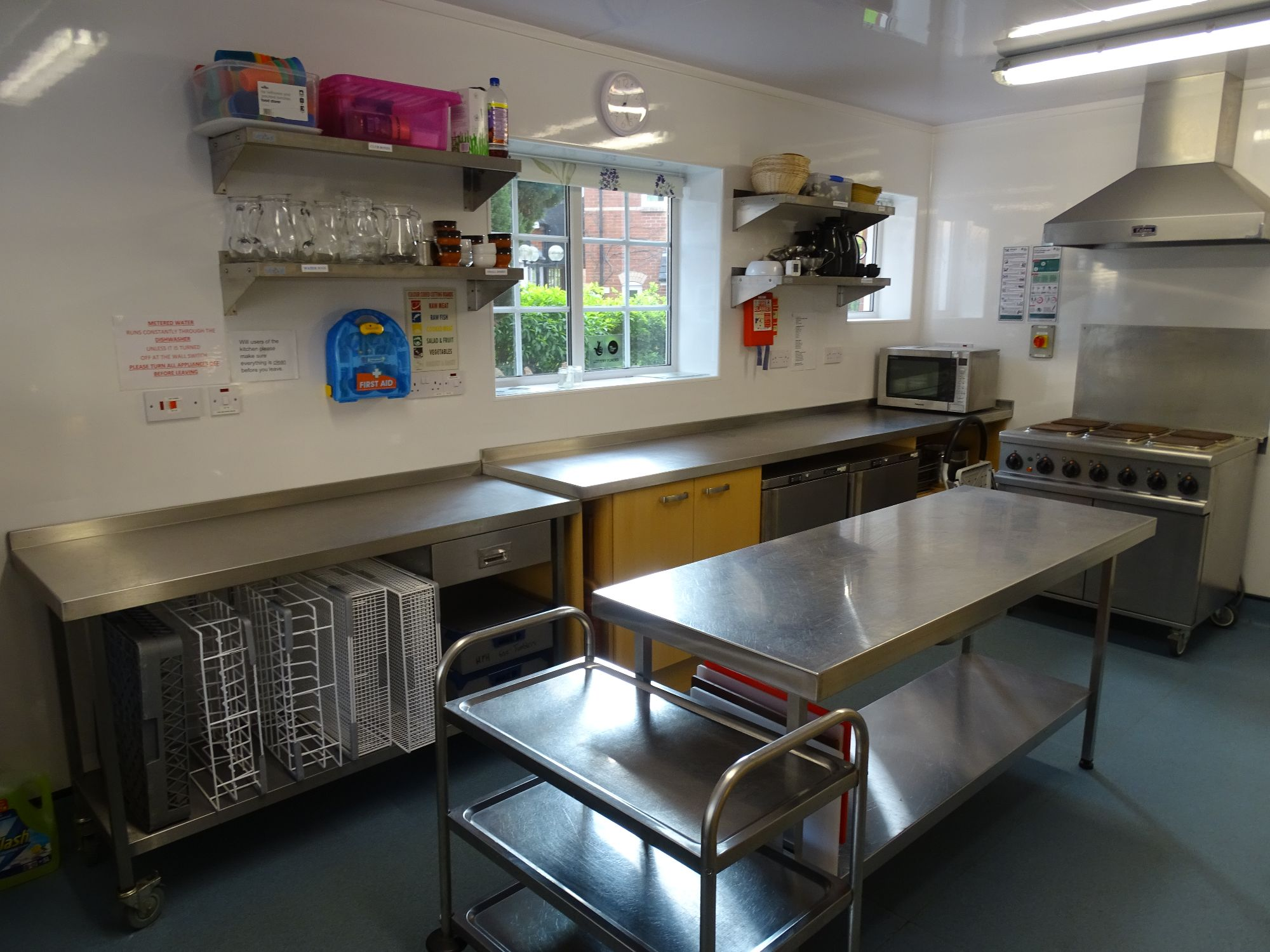 Kitchen facilities to hire Hemyock
