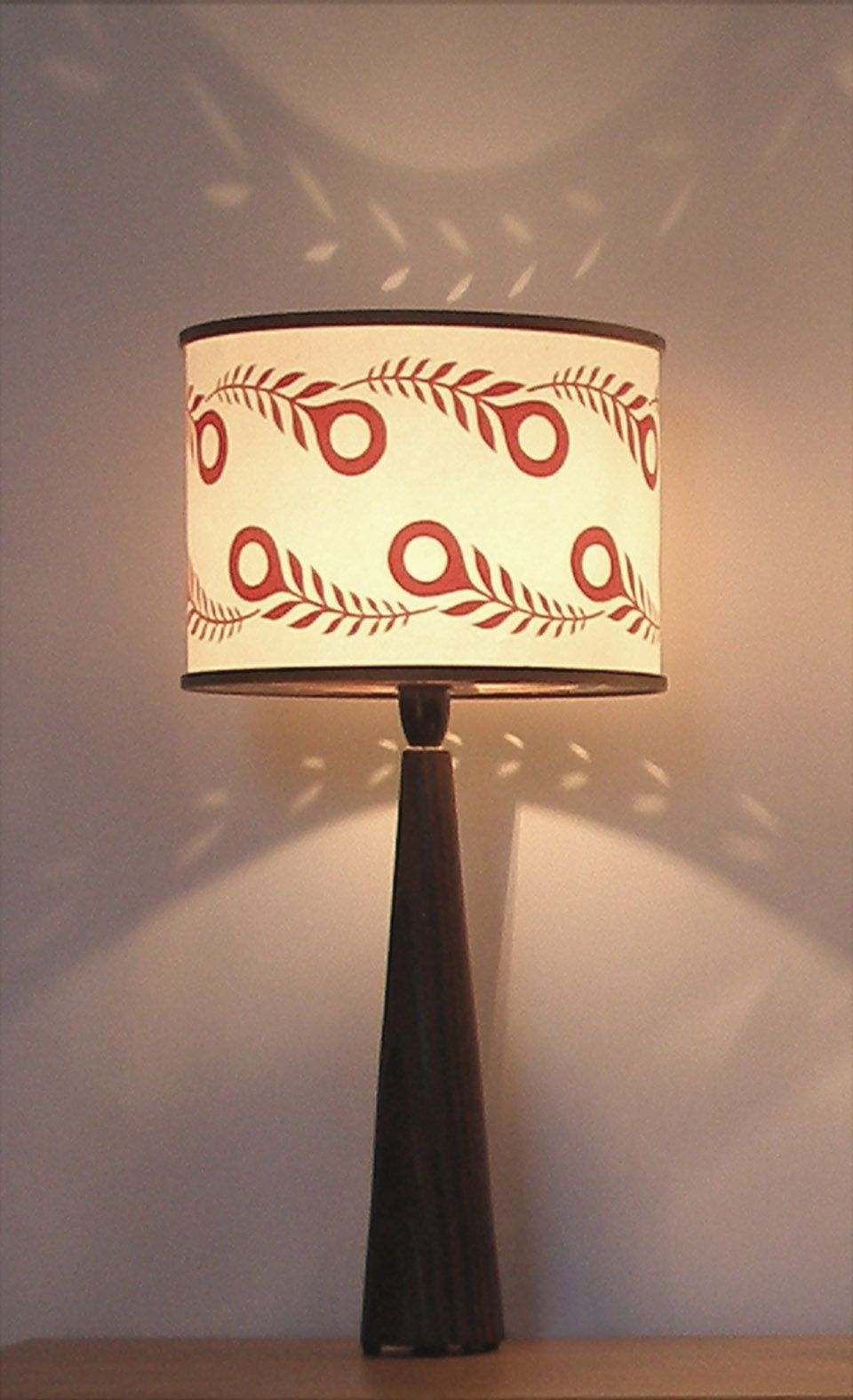 'Peacock leaf' lamp