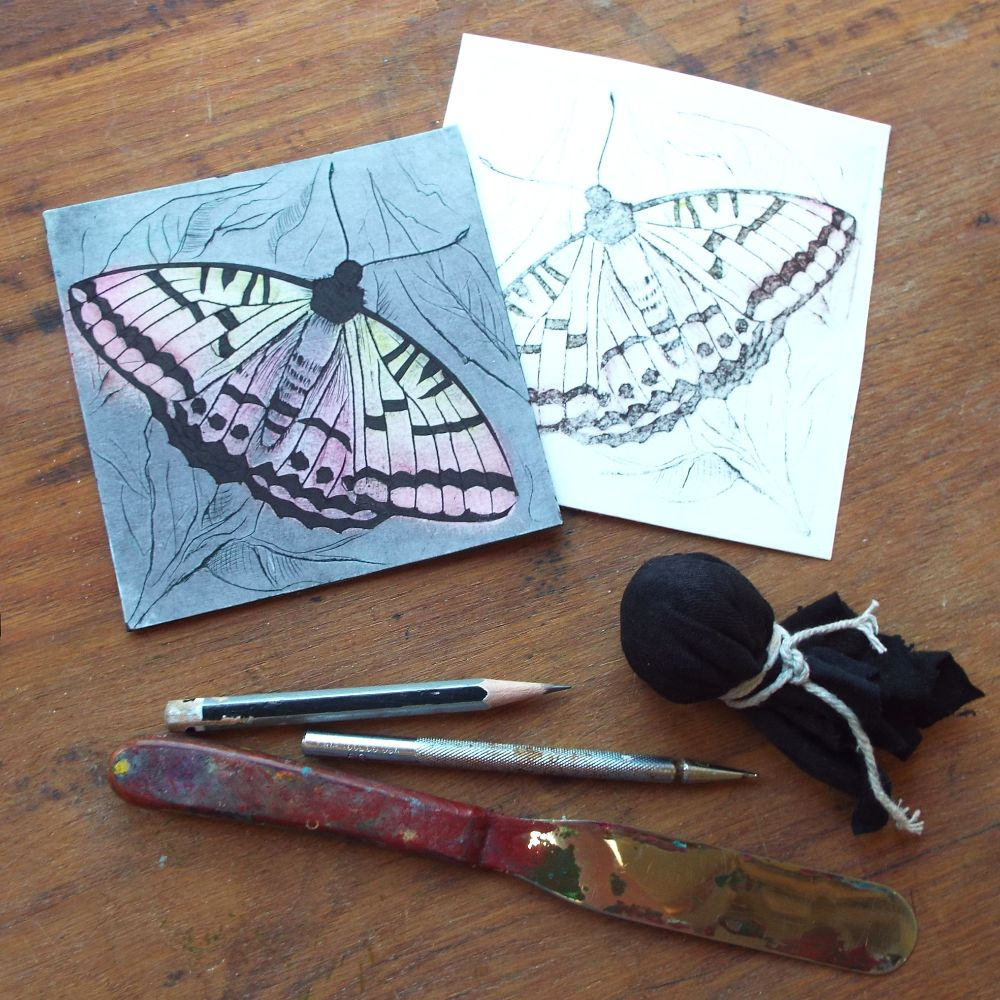 Introduction to Drypoint engraving