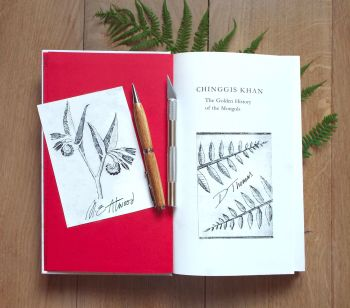 (2) 4th October - Beginners Drypoint Workshop to Print a Set of Bookplates