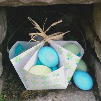 (2) 20TH APRIL (SAT) - Make and print lovely Easter baskets and Easter egg hunt!
