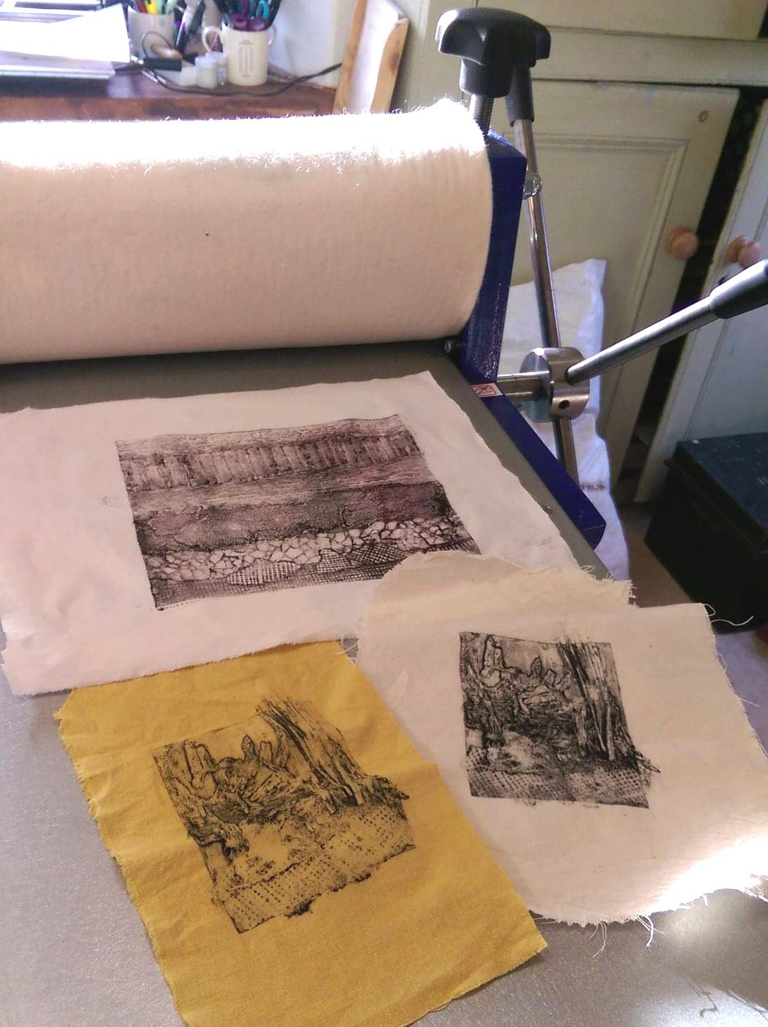 (3) Sat 27th July - COLLAGRAPH PRINTMAKING