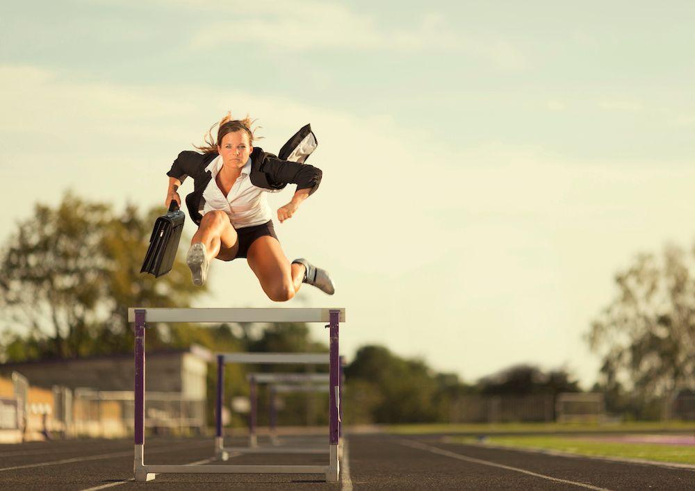 Overcome hurdles